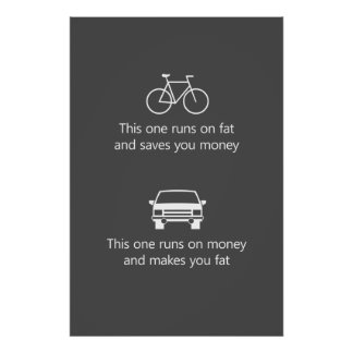 This one runs on fat and saves you money... poster