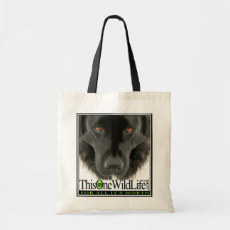 This One Wild Life Eco-Bag Budget Tote Bag