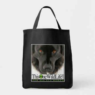 This One Wild Life Grocery Bag