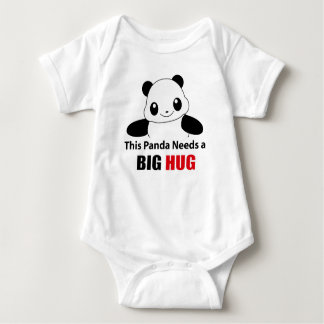 This Panda needs a big hug Baby Jersey Bodysuit
