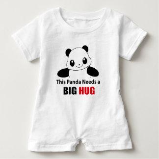 This Panda needs a big hug Baby Romper Baby Bodysuit