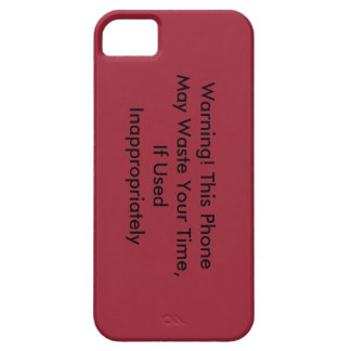 This Phone May Waste Your Time IPhone Case iPhone 5 Covers