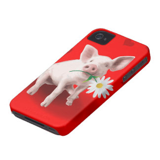 This Pig's in Love iPhone 4 Case