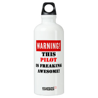 This Pilot is Freaking Awesome! Water Bottle