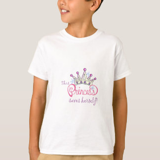 This Princess Saves Herself! T-Shirt
