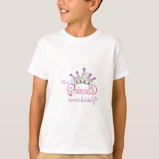 This Princess Saves Herself! Tee Shirts