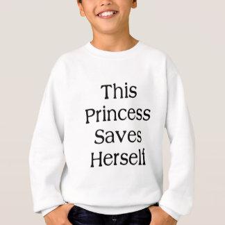 This Princess Saves Sweatshirt