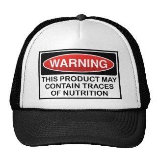 THIS PRODUCT MAY CONTAIN TRACES OF NUTRITION CAP