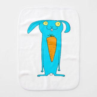 This Rabbit eats . . . carrots Burp Cloth