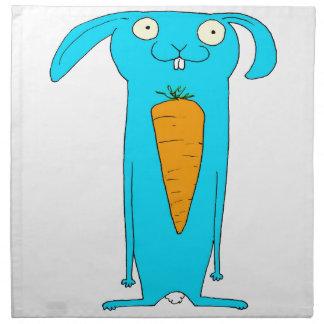 This Rabbit eats . . . carrots Napkin