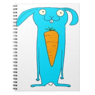 This Rabbit eats . . . carrots Spiral Notebook