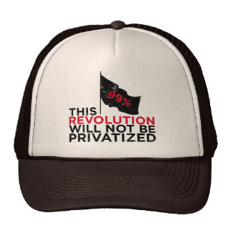 This revolution will not be privatized - 99% mesh hats