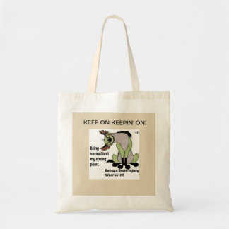 This says it all! tote bag