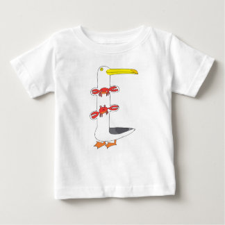 This seagull  . . . eats crabs baby T-Shirt