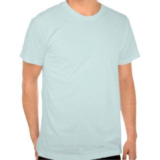 This shirt has a porpoise.