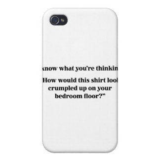 This Shirt Look Crumpled Cover For iPhone 4