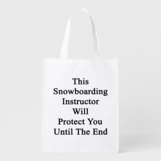 This Snowboarding Instructor Will Protect You Unti Market Totes