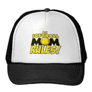 This Softball Mom Rules copy.png Cap