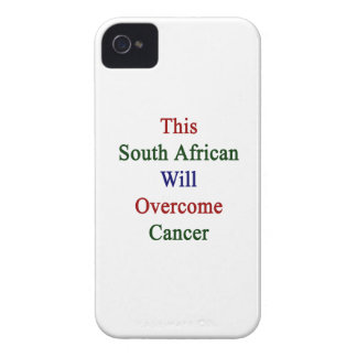 This South African Will Overcome Cancer Case-Mate iPhone 4 Case