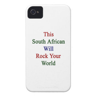 This South African Will Rock Your World iPhone 4 Case-Mate Case