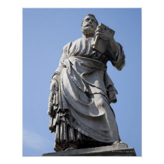 This statue of Saint Peter is on the left side Poster