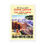 This Summer Visit Grand Canyon Stretched Canvas Prints