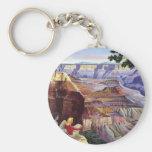 This Summer Visit Grand Canyon Basic Round Button Key Ring