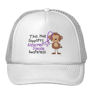 This Supports Alzheimers Disease Awareness Cap