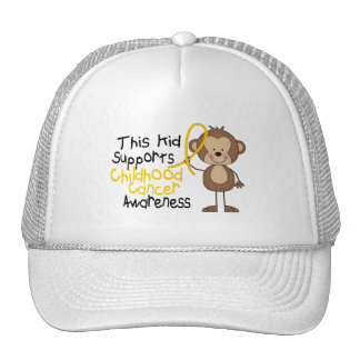 This Supports Childhood Cancer Awareness Cap
