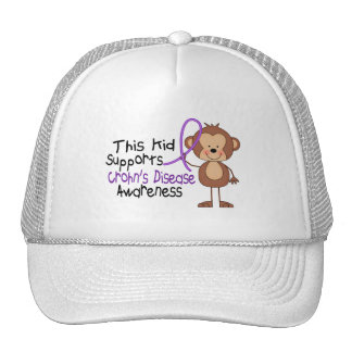 This Supports Crohns Disease Awareness Cap