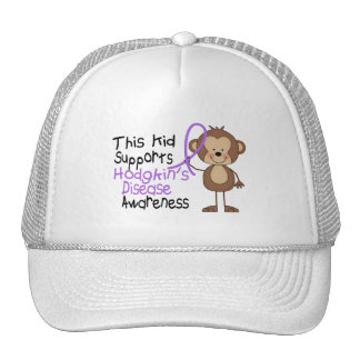 This Supports Hodgkins Disease Awareness Cap