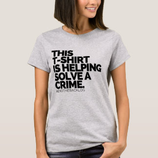 This T-Shirt Is Helping Solve A Crime