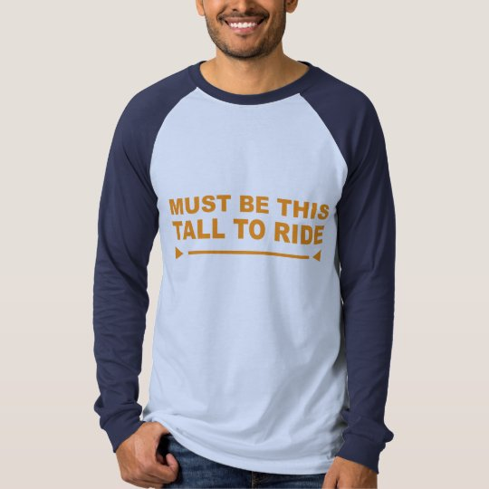 This Tall T-Shirt