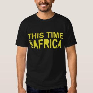 This Time For Africa waka-waka (2 side ) Tee Shirt
