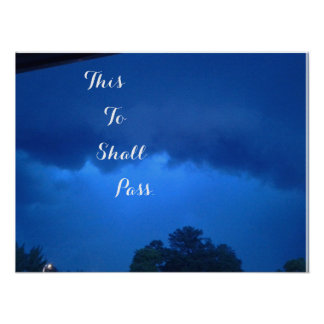 This To Shall Pass Poster