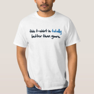 This to t-shir IS… T-Shirt