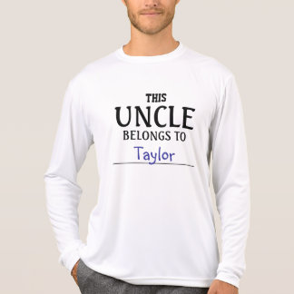 This Uncle Belongs To ........ T-Shirt