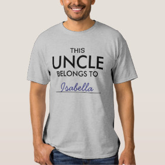This Uncle Belongs To ........ Tee Shirt