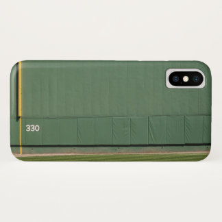 This wall is known as 'the Green Monster.'Foul iPhone X Case