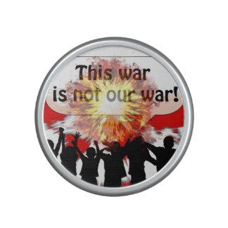 This War is Not Our War Bluetooth Speaker