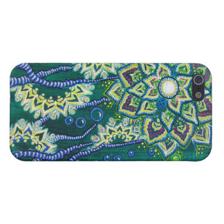"""This Was All Ocean, Once"" (Floral Aquatic Scene) iPhone 5 Covers"