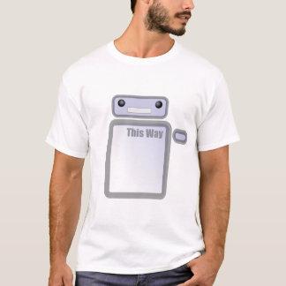 This Way Robot T-Shirt