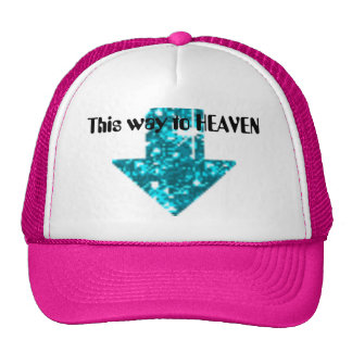 This way to Heaven Mesh Hats