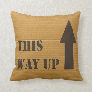 This Way Up Cushion