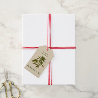 This Weed Bud's for You. Gift Tags