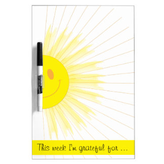 This Week I'm Grateful Gratitude Weekly Mindfulnes Dry Erase Whiteboard