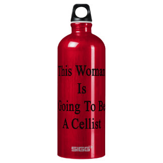 This Woman Is Going To Be A Cellist SIGG Traveller 1.0L Water Bottle