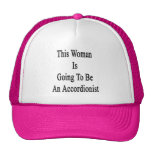 This Woman Is Going To Be An Accordionist Trucker Hat