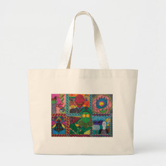 This World And What Is Between Jumbo Tote Bag