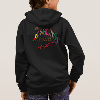 This Younglings Full of Awesome Multi Color Design Hoodie